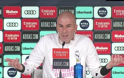 """Zidane: """"Ci sono momenti in cui bisogna andar via"""""""