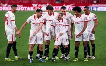 Siviglia scopre la Papu dance: primo gol di Gomez