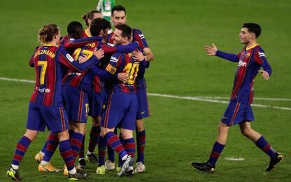 Messi e Trincão salvano il Barça: i risultati