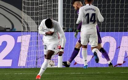 La Real Sociedad frena il Real, 1-1 a Madrid