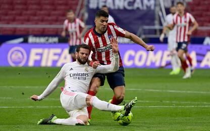 Benzema risponde a Suarez: 1-1 nel derby di Madrid