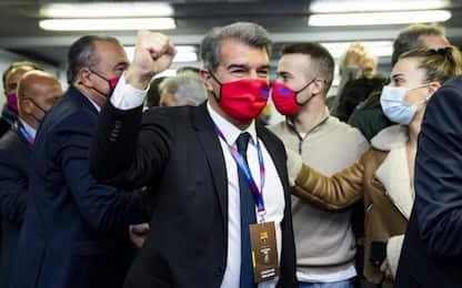 Joan Laporta è il nuovo presidente del Barcellona