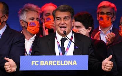 """Laporta: """"Messi vuole il Barça, speriamo resti"""""""