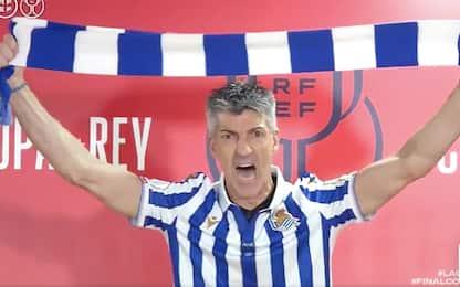 Real Sociedad, show dell'allenatore in conferenza