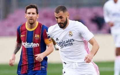 """Zidane: """"Spero non sia l'ultimo Clasico di Messi"""""""