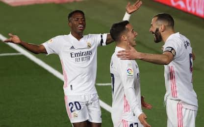 Clasico al Real: 2-1 al Barça, Zidane è in vetta