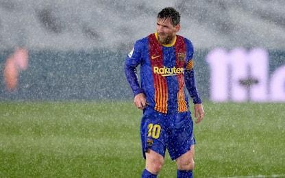 Messi flop nel Clasico, 0 gol dopo l'addio di CR7