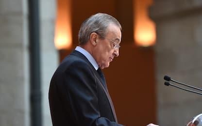 Florentino Perez rieletto presidente del Real