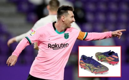 Record Messi: scarpe vendute per 125mila sterline