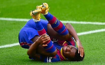 Ansu Fati, nuova operazione al ginocchio