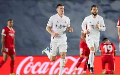 Un autogol salva il Real: con il Siviglia è 2-2