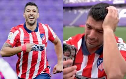Atletico campione, Suarez segna e piange di gioia
