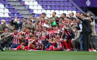 Spanish football La Liga match -  Real Valladolid vs Atletico de Madrid
