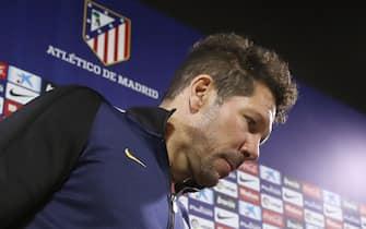 Atletico Madrid, allenamento e conferenza stampa