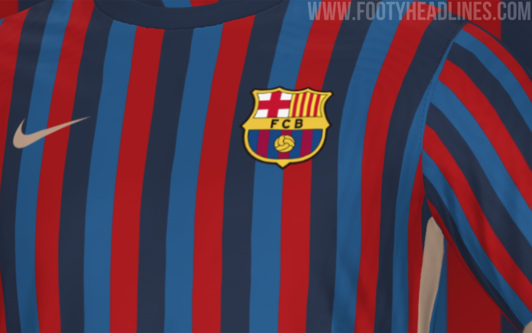 Barcellona, nuova maglia 2022 2023: le anticipazioni di Footy ...