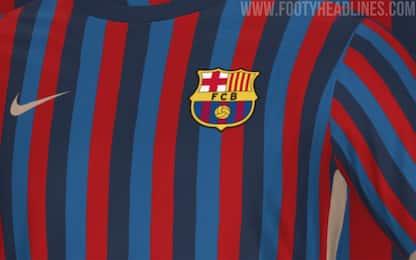 La maglia rivoluzionaria del Barça 2022/23. FOTO