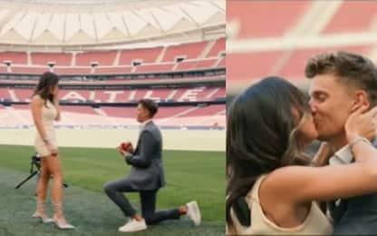 """""""Vuoi sposarmi?"""": Llorente lo chiede allo stadio"""