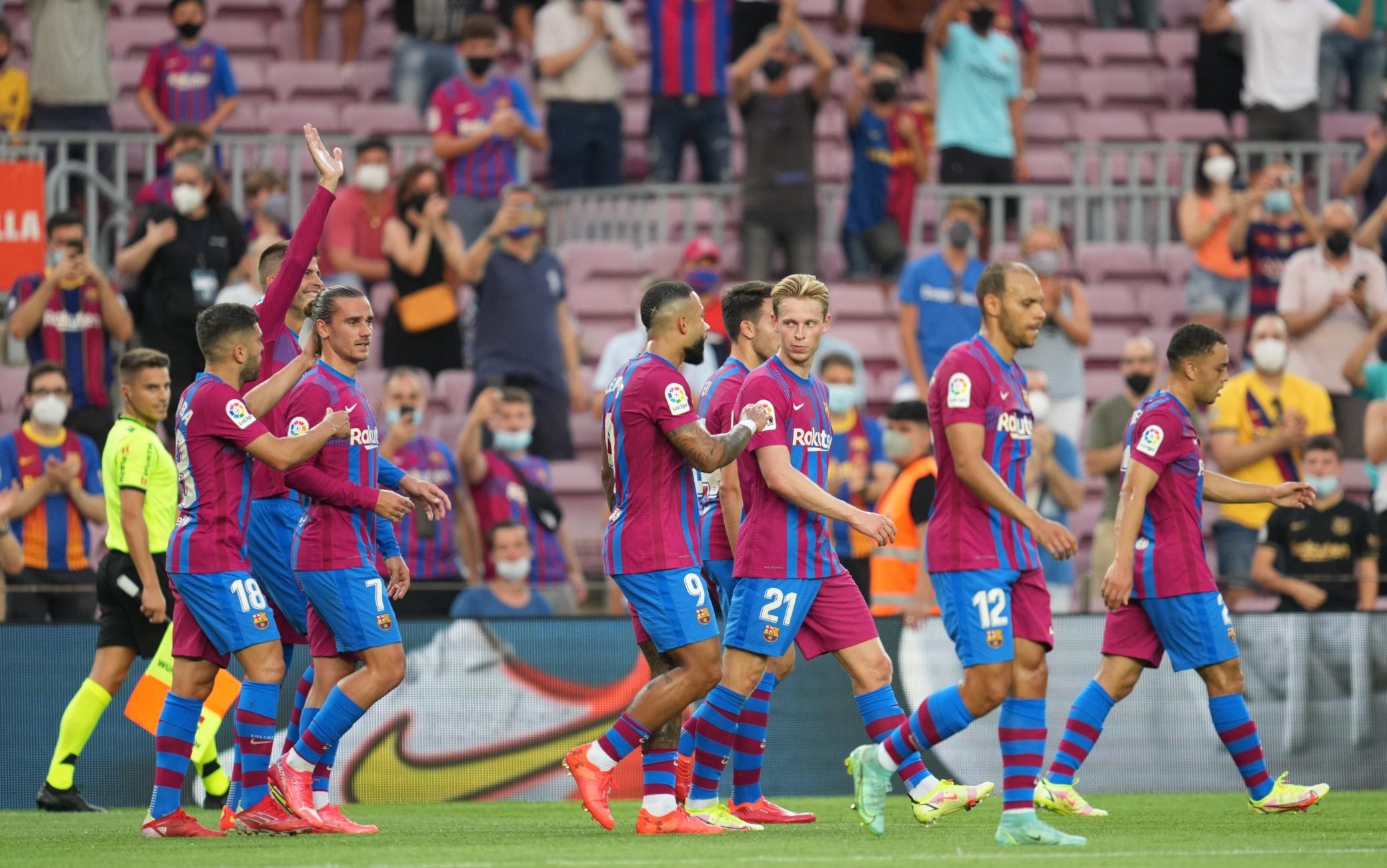 Barcellona Real Sociedad 4-2: prima volta senza Messi, poker blaugrana |  Sky Sport