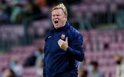 Barcellona, due turni di squalifica a Koeman