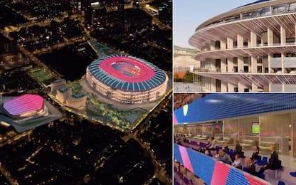 Nuovo Camp Nou: progetto da 1 miliardo e mezzo