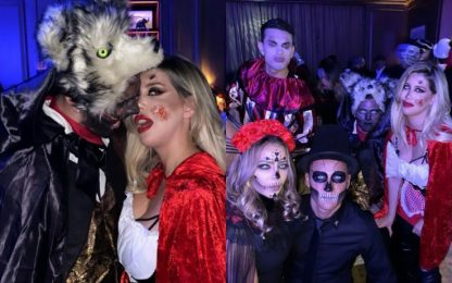 Wanda-Icardi show ad Halloween: tifosi infuriati