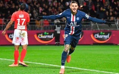 Icardi ancora in gol: nessuno come lui in Europa