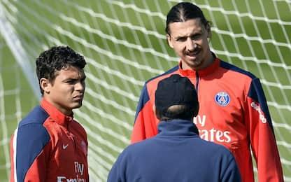 """Thiago Silva: """"Quando Ibra minacciò di picchiarmi"""""""