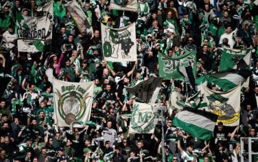 Saint Etienne tifosi Getty