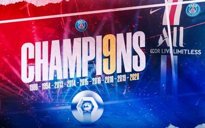 Ligue1 chiude in anticipo: Psg campione di Francia