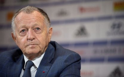 """Aulas: """"Stop Ligue 1? Così ci impicchiamo da soli"""""""