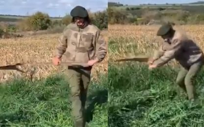 Matador o Jardinero? Cavani si allena così. VIDEO