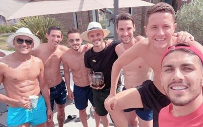 "Psg, tutti in piscina. Neymar: ""Manco io!"". FOTO"