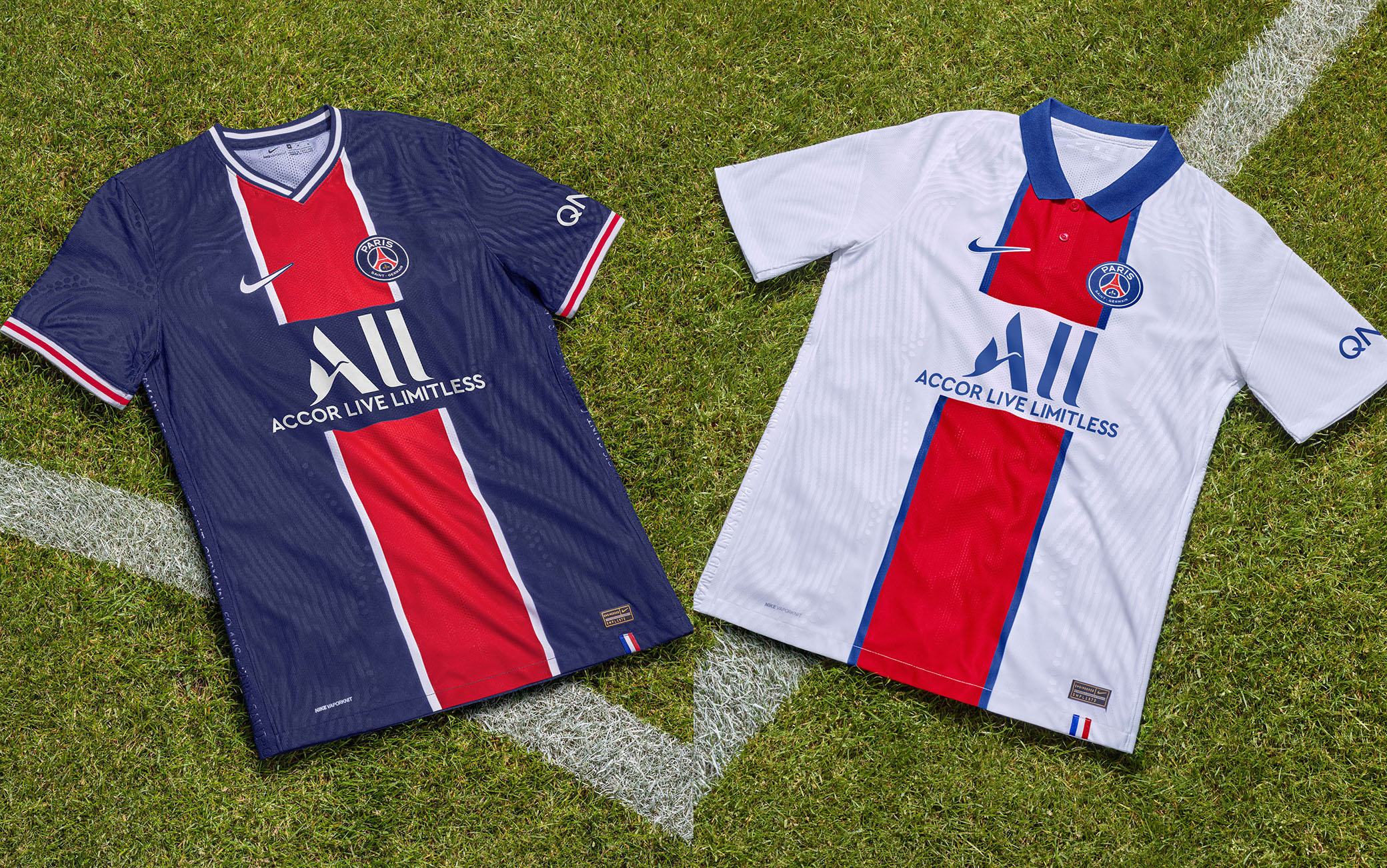 Psg, la prima e la seconda maglia per la stagione 2020 2021 | Sky ...