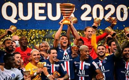 Il PSG vince la Coppa di Lega: Lione ko ai rigori