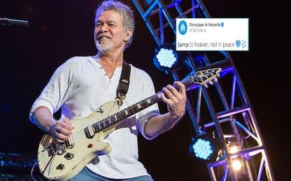 E' morto Van Halen, l'omaggio social del Marsiglia