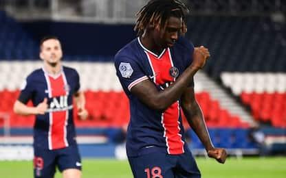 Kean show con il PSG: doppietta contro il Dijon