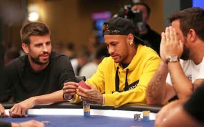 """Neymar: """"Quando smetto farò il giocatore di poker"""""""