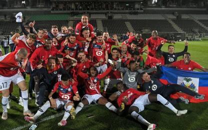 Lille campione di Francia, il Nantes al playout