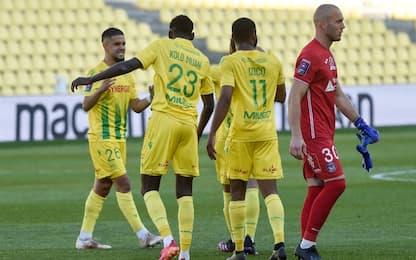 Nantes resta in Ligue 1: al Tolosa non basta l'1-0