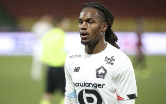 Renato Sanches of Lille during the French championship Ligue 1 football match between FC Metz and Lille OSC (LOSC) on April 9, 2021 at Stade Saint-Symphorien in Metz, France - Photo Jean Catuffe / DPPI / LiveMedia