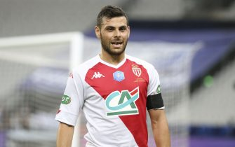 Kevin Volland of Monaco during the French Cup Final football match between AS Monaco (ASM) and Paris Saint-Germain PSG on May 19, 2021 at Stade de France in Saint-Denis near Paris, France - Photo Jean Catuffe / DPPI / LiveMedia