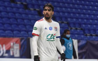 Lucas PAQUETA lyon during the French Cup round-of-32 football match between Lyon (OL) and Sochaux (FCSM) at The Groupama Stadium in Decines-Charpieu, near Lyon, central-eastern France on March 6, 2021.//ALLILIMOURAD_allili945/2103071107/Credit:Mourad ALLILI/SIPA/2103071115
