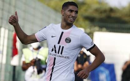 Hakimi-gol e il PSG va: Orleans ko in amichevole