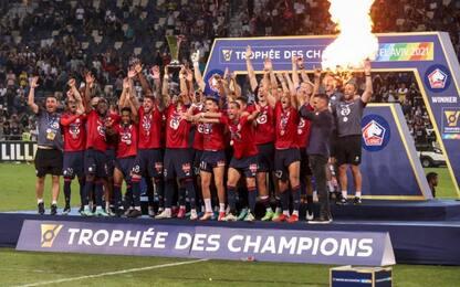 Il Lille batte il PSG e vince la Supercoppa
