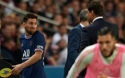 Messi sostituito, rifiuta la mano di Pochettino