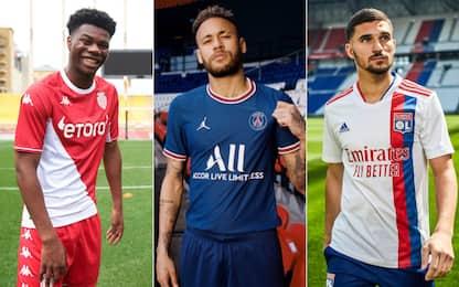 Tutte le maglie della Ligue 1 2021-2022