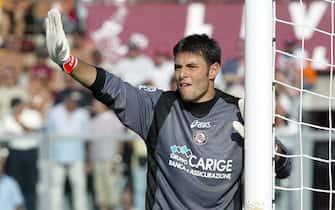 ©Stefano D'Errico / LaPresse19-09-2004 LivornoSport CalcioLivorno Chievo campionato serie A 2004 2005Nella foto MARCO AMELIA