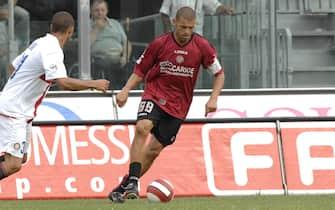©Stefano D'Errico - LaPresse23-09-2007 LivornoSport CalcioLivorno-Internella foto:BALLERI DAVIDEItalian soccer, Serie A 2007 2008 Livorno vs InterIn the photo:BALLERI DAVIDE