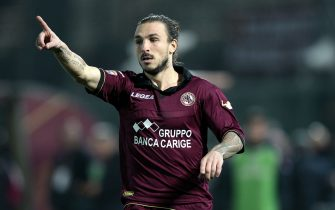 LIVORNO, ITALY - DECEMBER 22: Paulinho of AS Livorno Calcio in action during the Serie A match between AS Livorno Calcio and Udinese Calcio at Stadio Armando Picchi on December 22, 2013 in Livorno, Italy.  (Photo by Gabriele Maltinti/Getty Images)
