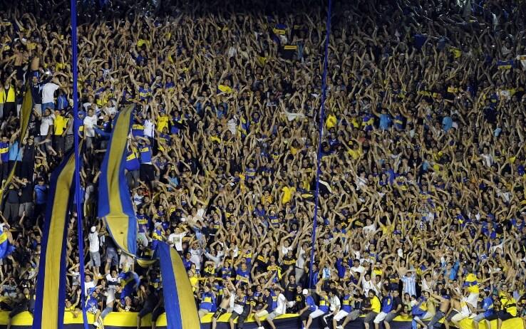 Lo stadio della Bombonera
